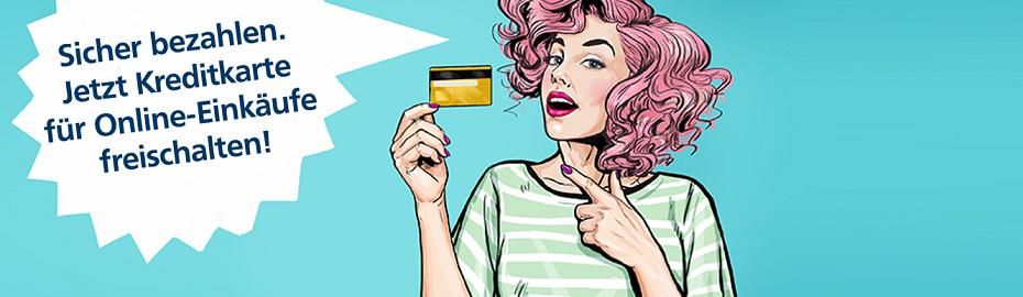 Mastercard® SecureCode™ und Verified by VISA